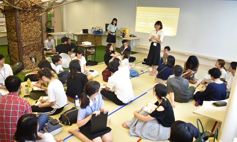 アイセック神戸大学委員会NESTさんがコスタディでイベントを開催されました。